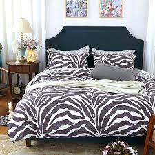 Zebra Bed Set Zebra Bedding Fancy Zebra Print Comforter Size For