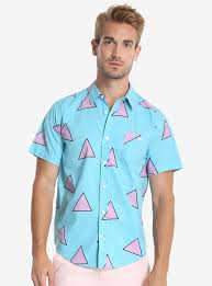 rocko s modern life rocko u0027s modern life short sleeve woven button up boxlunch