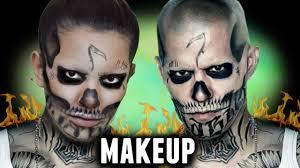 el diablo makeup tutorial squad halloween costume idea