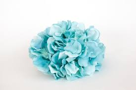 silk hydrangea 60 silk hydrangea petals in light blue shades silk flowers