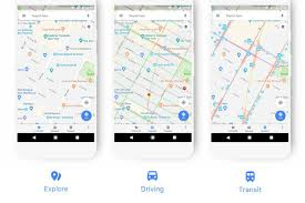 Google Maps Driving Google Maps Is Getting A Makeover Curbed