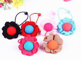 children s hair accessories new korean children s hair accessories baby flower buttons
