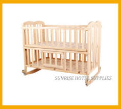Folding Baby Bed China Hotel Safety Wooden Folding Baby Crib Baby Cot China Baby