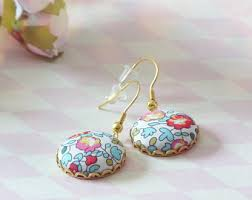 liberty earrings liberty earrings etsy