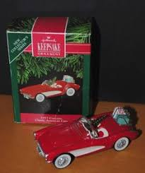 hallmark keepsake ornament 1961 chevrolet corvette mako shark i in