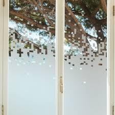 stickers fenetre cuisine sticker occultant pour vitre et fenêtre depoli design