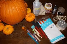 halloween decor diy classy painted pumpkins u2014 old world new