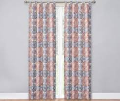Blue And White Window Curtains Curtains U0026 Window Treatments Big Lots