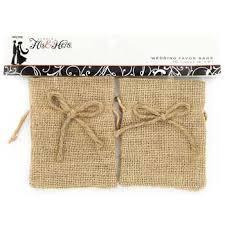 small burlap bags 4 x 5 burlap wedding favor bags hobby lobby 602706