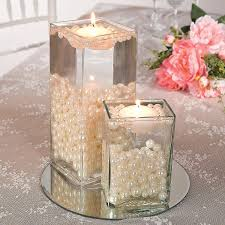 easy centerpieces easy pearl bead centerpiece idea simple and stunning