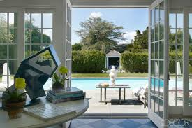 divine design inspiration from the brilliant cynthia frank as cynthia frank elle decor view to pool