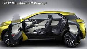 mpv car interior 2017 mitsubishi xm concept previews crossover mpv youtube