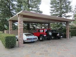 Attached Carport Designs by 27 Awesome Brick Carports Design Pixelmari Com
