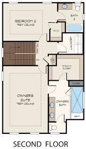 arlington ii floor plan at townsend at lenox park in atlanta ga