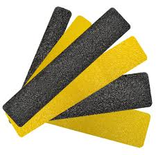 flooring interesting non slip stair treads in black and yellow