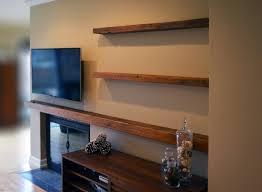 floating shelves light oak white high gloss nightstand floating