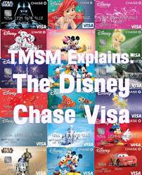 tmsm explains the disney chase visa the main street mouse