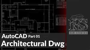 Autocad Architecture Floor Plan Architectural Drawings Sinhala Part 01 Autocad House Plan