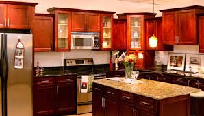 tag for paint color ideas for kitchen with cherry cabinets best