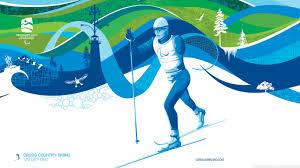 para cross country skiing hd desktop wallpaper widescreen high