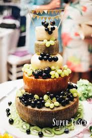 say cheese to an alternative wedding cake