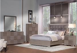 5 pc queen bedroom set picture of dominique gray 5 pc queen panel bedroom from queen