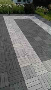 100 recycled rubber flooring tiles add long lasting beauty to an