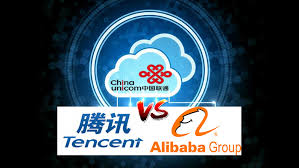alibaba tencent china unicom to partner with tencent and alibaba in cloud computing