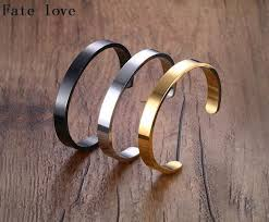 aliexpress buy new arrival men jewelry gold silver aliexpress buy fate silver gold black 8mm stainless