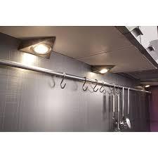 eclairage pour meuble de cuisine kit de 3 spots à fixer pour la cuisine décoration eclairage