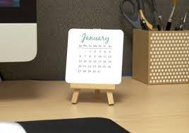 Small Desk Calendars Cheap Desk Calendar Aztec