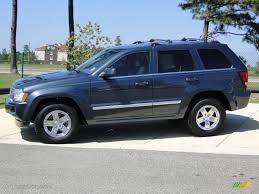 steel blue metallic 2007 jeep grand cherokee overland crd 4x4