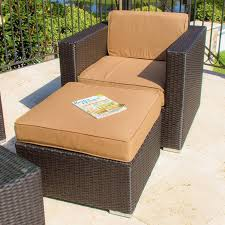 Patio Club Chair Avery Island 2 Resin Wicker Patio Seating Set By Lakeview