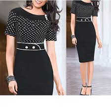 buttons design round collar dresses cheap fashion dress online store