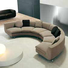 curved sectional sofas for small spaces round sectional couches vulcan sc