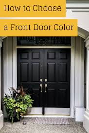 ever wondered how to pick a front door color this is a post just