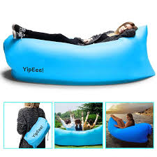 Beach Lounger Inflatable Lounger Sofa Hammock By Yipeee Outdoor Air Couch