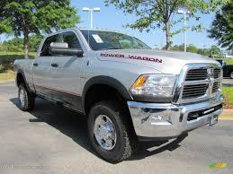 Dodge Ram Power Wagon - bright silver metallic 2011 dodge ram 2500 hd power wagon crew cab