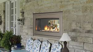 indoor outdoor gas fireplace fireplace pinterest gas