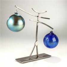 ornament holder dancer ornament holder steel two ornaments