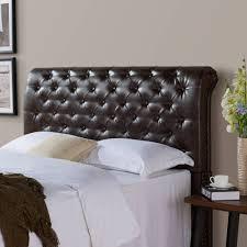 Black Studded Headboard Bedroom Amazing Diamond Tufted King Headboard Headboard Frame