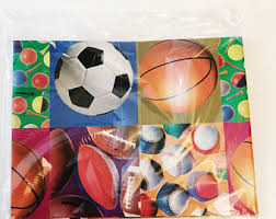 soccer wrapping paper athletic athlete etsy
