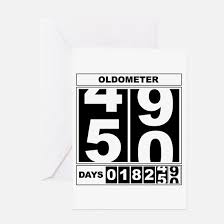 50 years old greeting cards cafepress