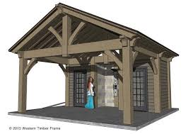 timber frame pool house plans homes zone
