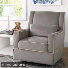 luna grey nursery swivel glider recliner chair kids furniture