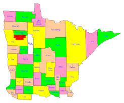 mn counties map minnesota county trip reports