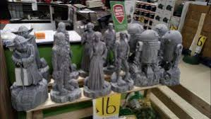 wars garden statues at homebase jedi news broadcasting