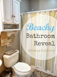 Bathrooms On A Budget A Heartful Home 31 Days Of Coastal Style Beachy Bathroom On A