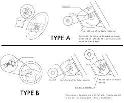 works bell short steering wheel boss kit hub for mitsubishi lancer