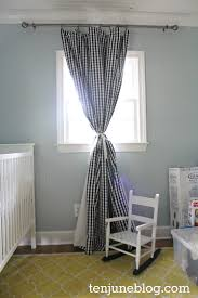 Yellow Curtains Nursery by Ten June Diy Blackout Curtain Tutorial How To Make Awesome